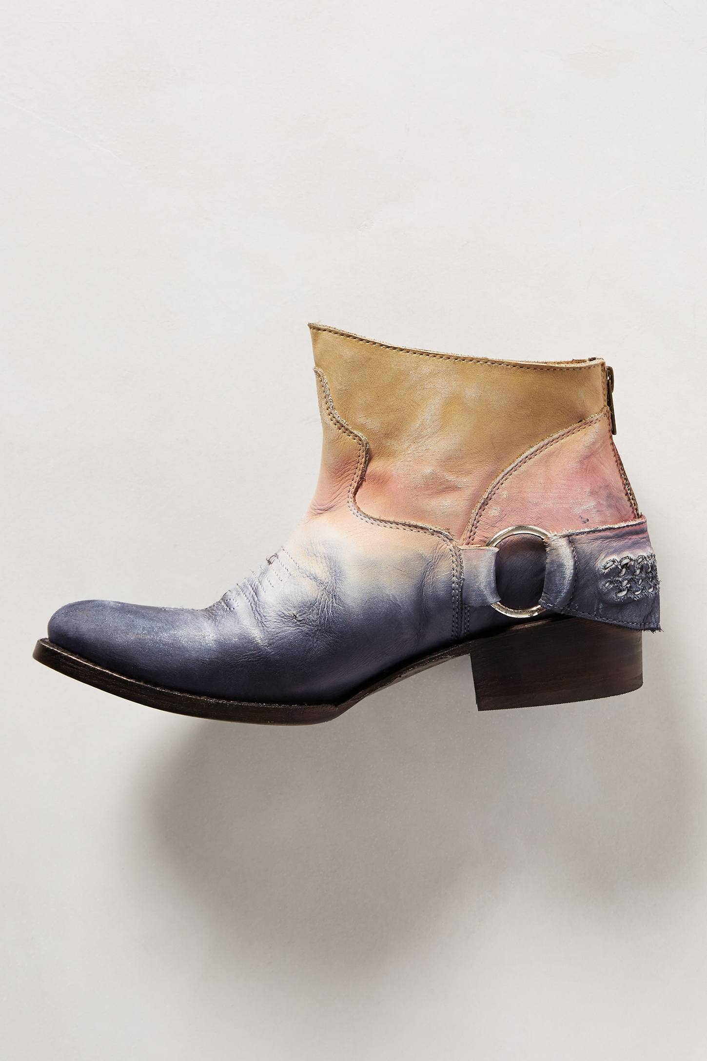 Lyst Freebird By Steven California Boots In Blue