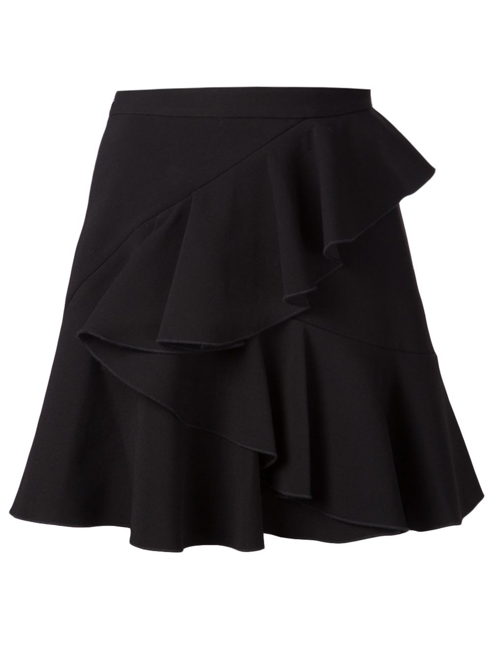 Black Ruffle Skirts. Clothing. Women. Black Ruffle Skirts. Showing 48 of results that match your query. Product - CLIPS Women's Black Belted Ruffle Front Straight Skirt IT Sz 44 NWT. Product Image. Price $ Product Title. CLIPS Women's Black Belted Ruffle Front Straight Skirt .