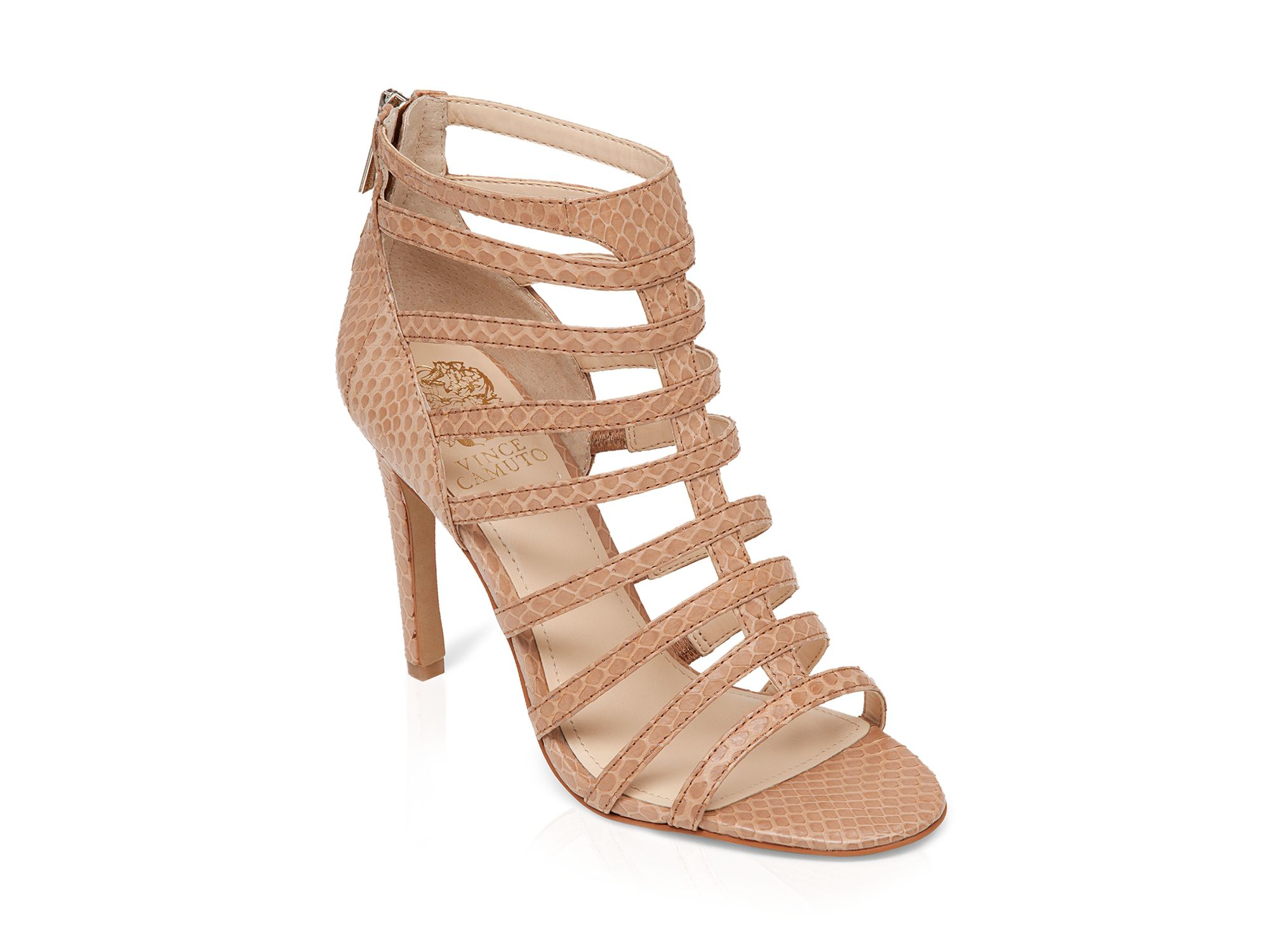 Lyst Vince Camuto Open Toe Caged Gladiator Sandals