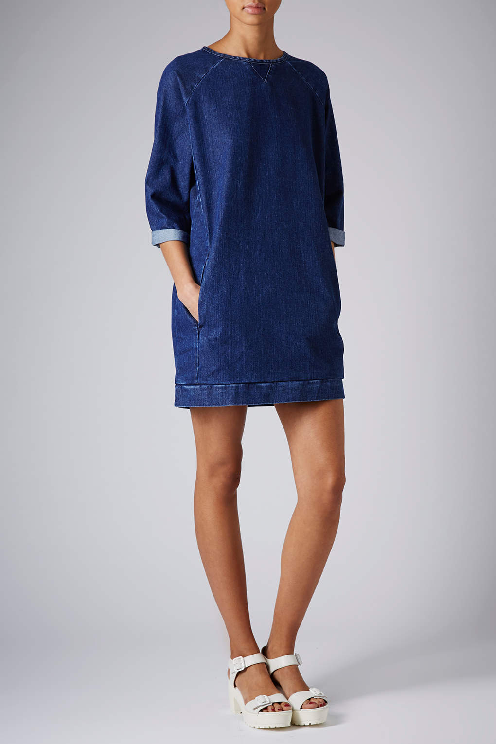 book of womens denim jumper dress in singapore by sophia