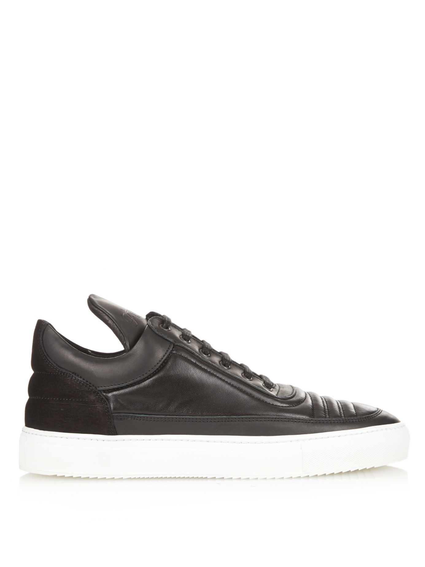Filling pieces Leather Low Trainers Pf5D8c