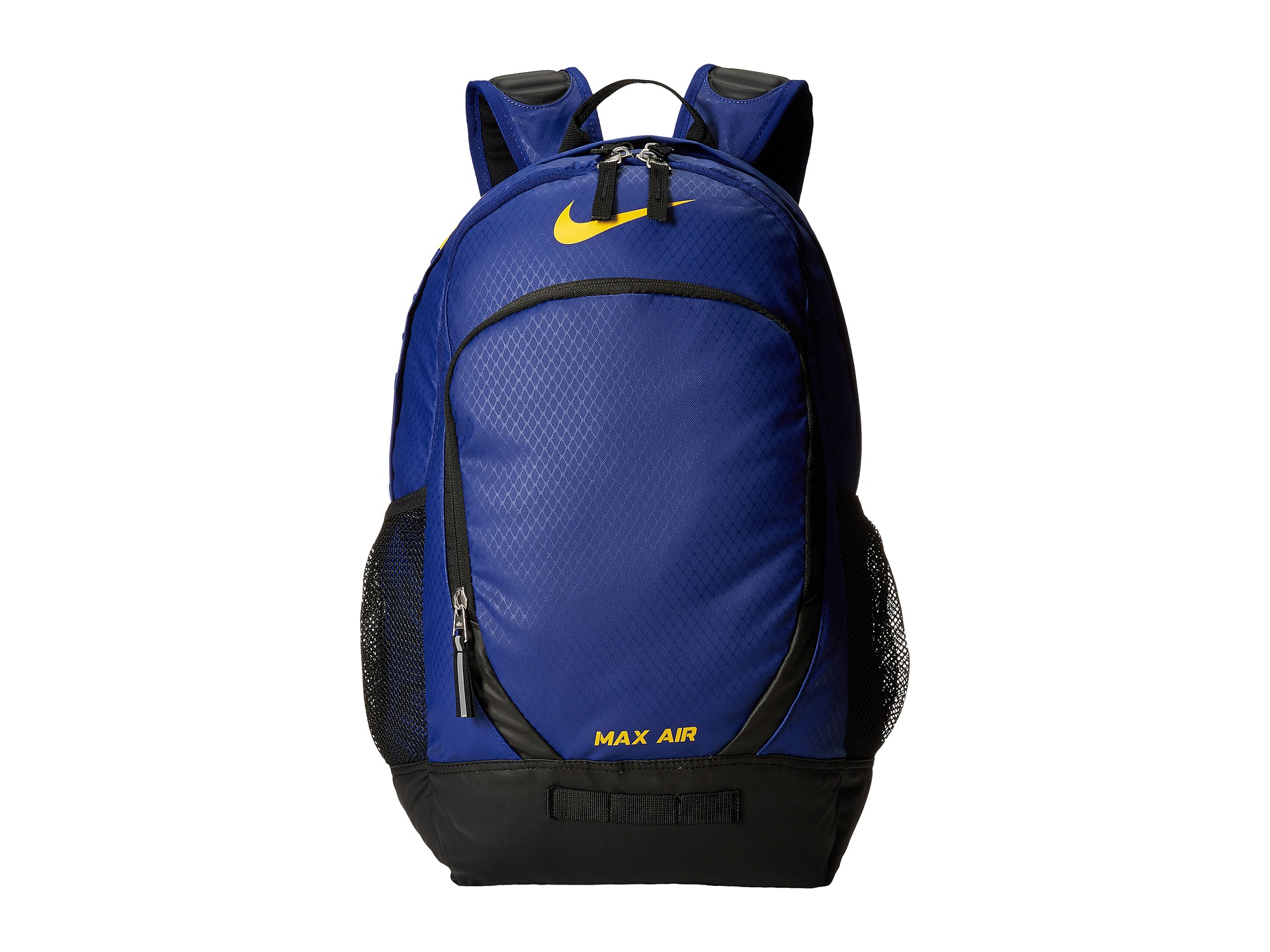 Lyst - Nike Team Training Max Air Large Backpack in Blue 6722f6a88f22d