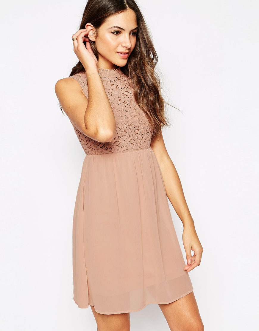 Vero Moda Pleated Short Sleeved Dress Women Payer Avec Le Prix Pas Cher Paypal sbLSUlv1