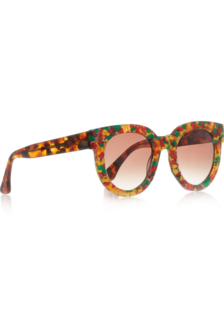 Thierry lasry Therapy Round-Frame Acetate Sunglasses in ...