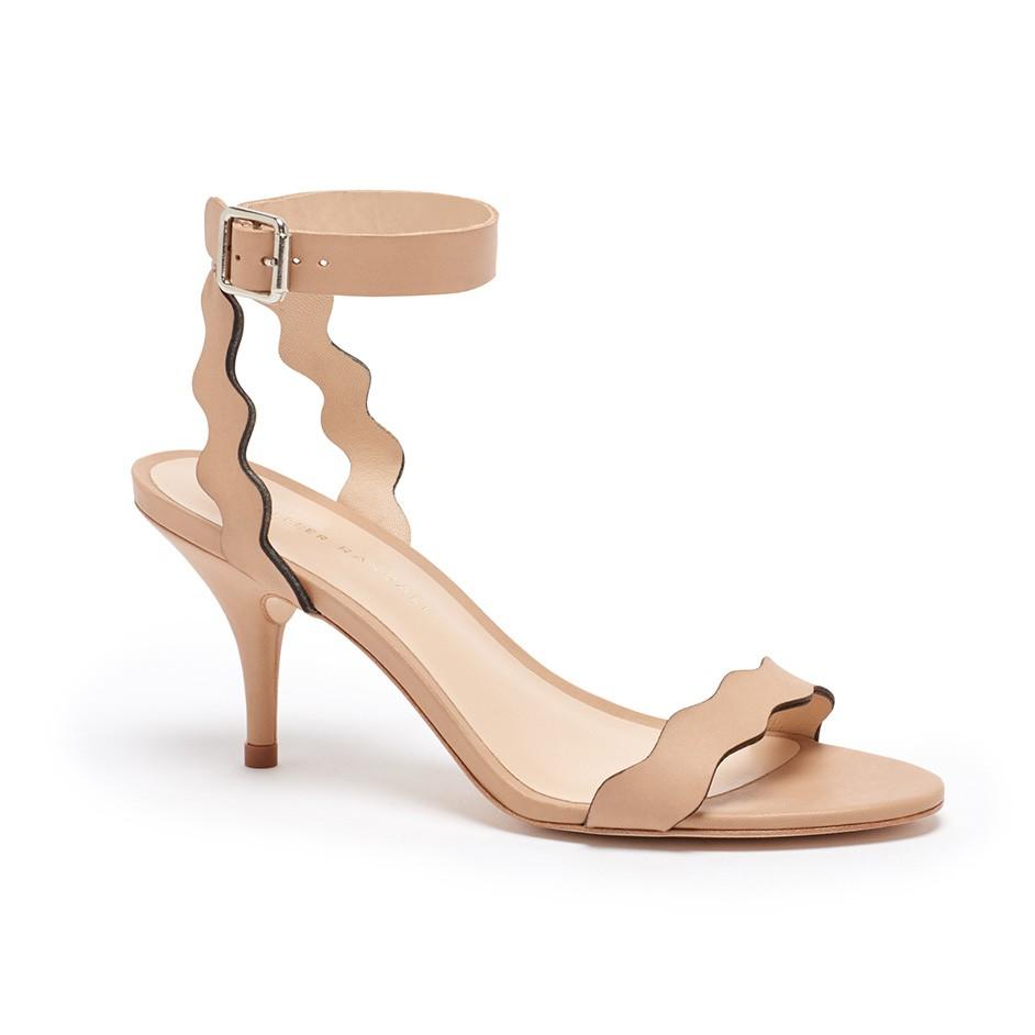 f29981cfe27 Lyst - Loeffler Randall Reina Kitten Heel Sandal in Natural