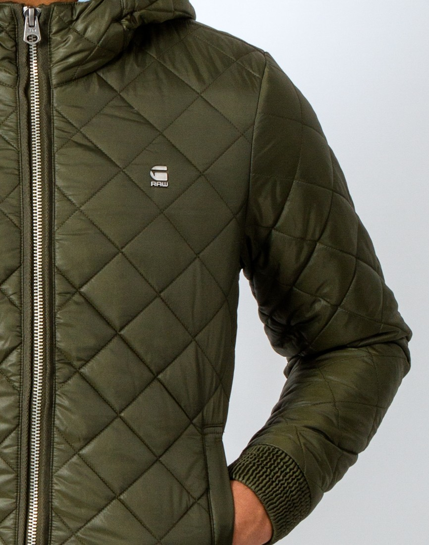 G star raw jacke 'meefic utility quilted'
