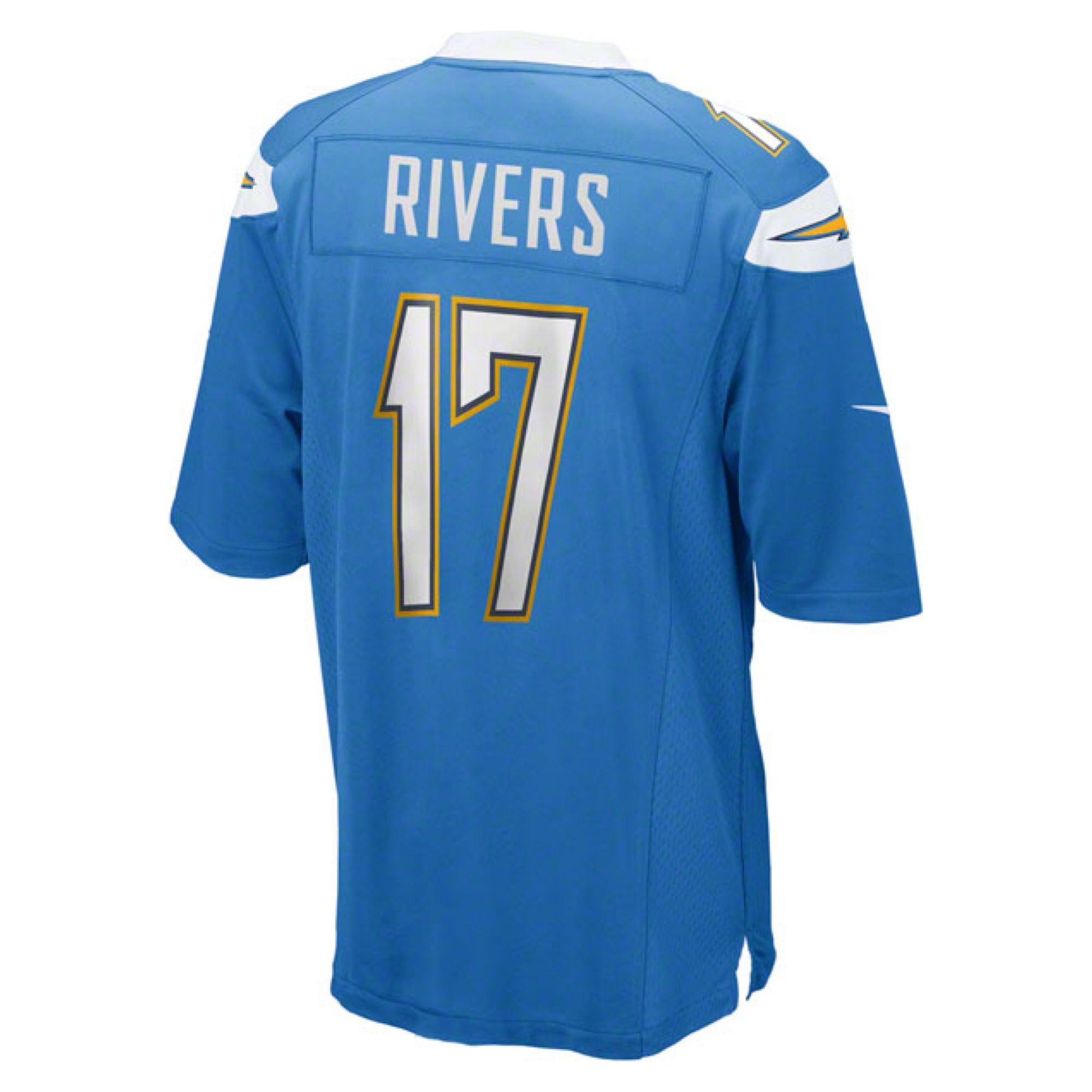 San Diego Chargers Dress: Nike Mens Philip Rivers San Diego Chargers Game Jersey In