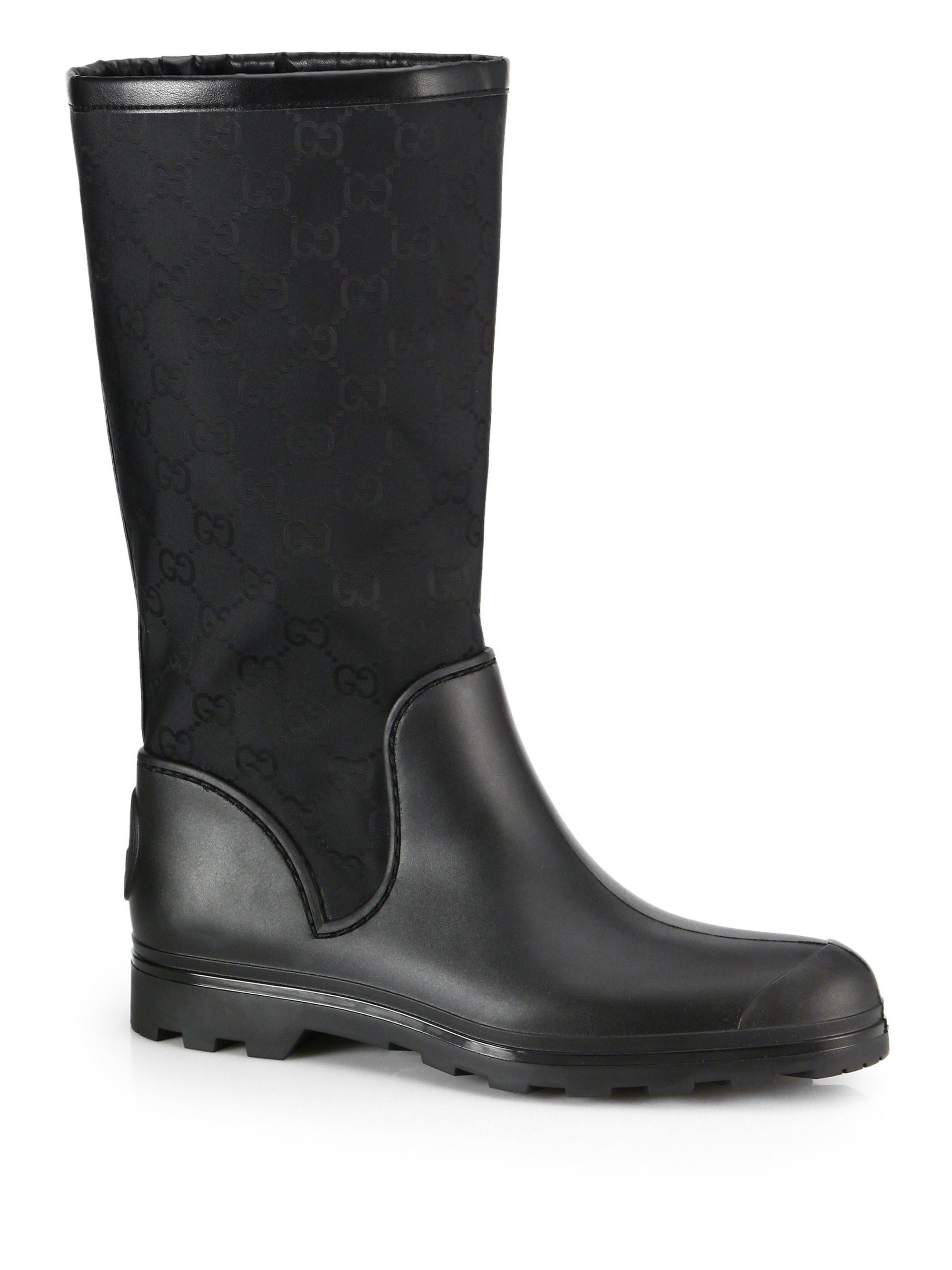 Fantastic Gucci Rain Boots  Shoes  GUC22571  The RealReal