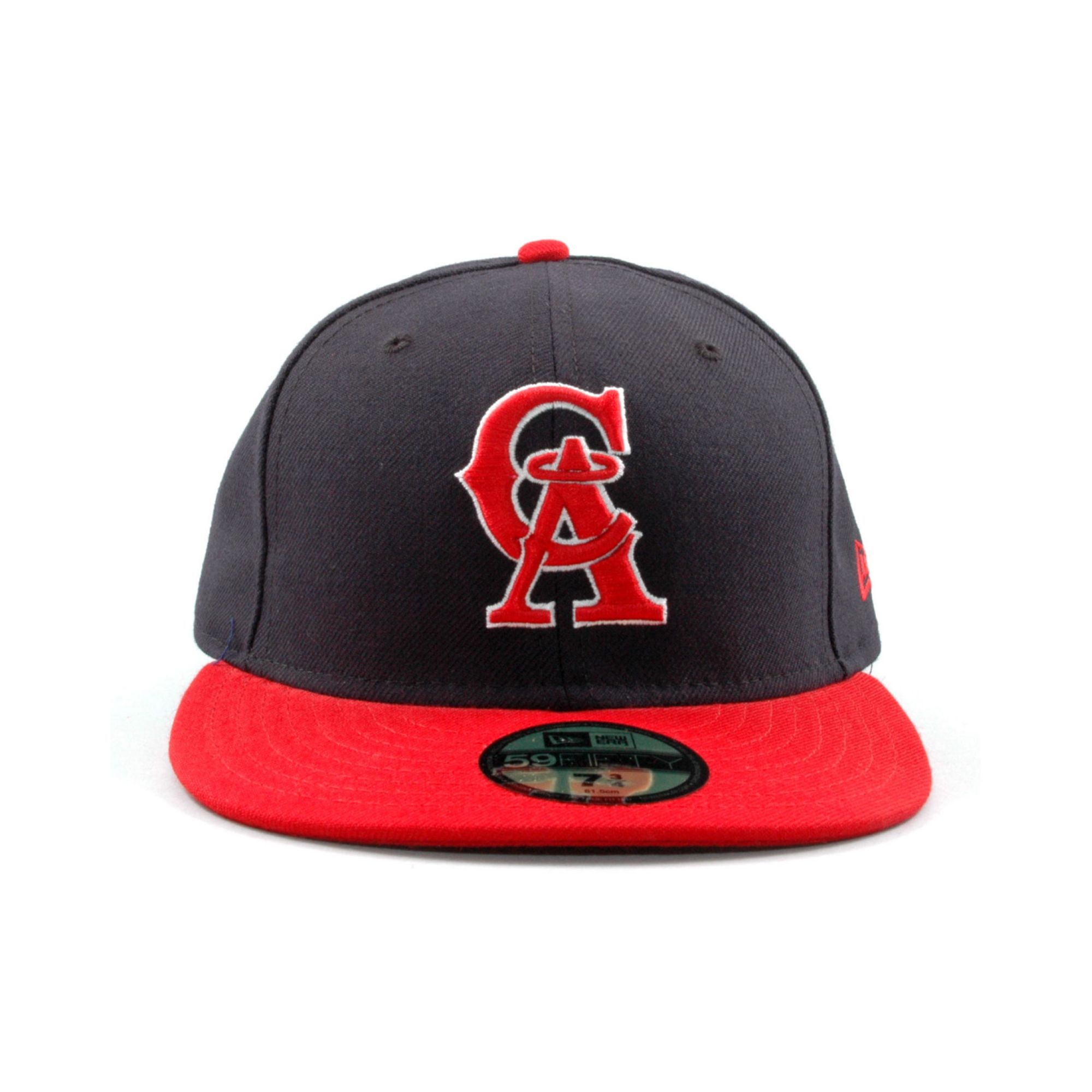 watch 132e4 87b55 KTZ Los Angeles Angels Of Anaheim Mlb Cooperstown 59fifty Cap in ...