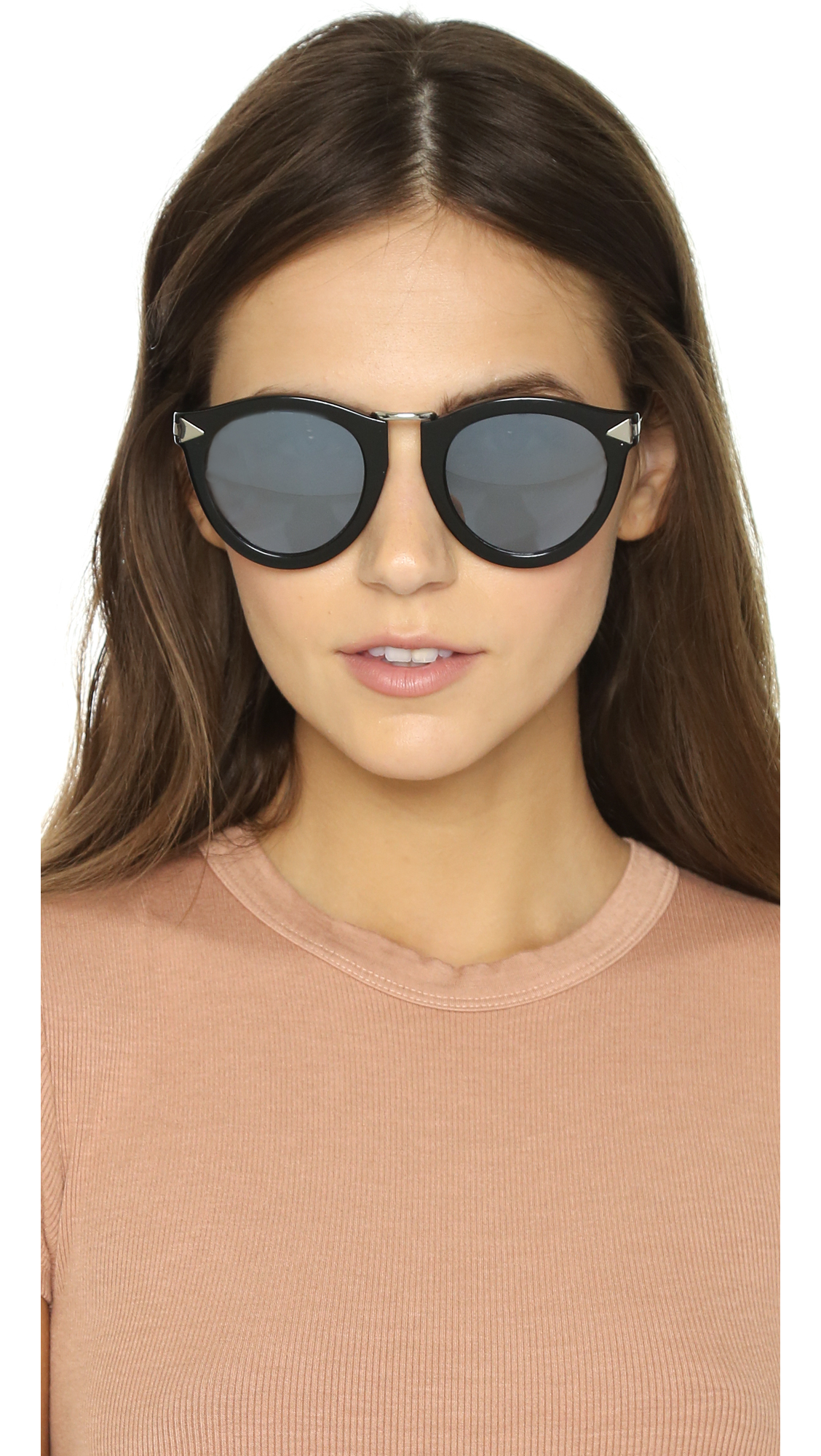 35247d6c8278 Karen Walker Superstars Harvest Sunglasses in Black - Lyst