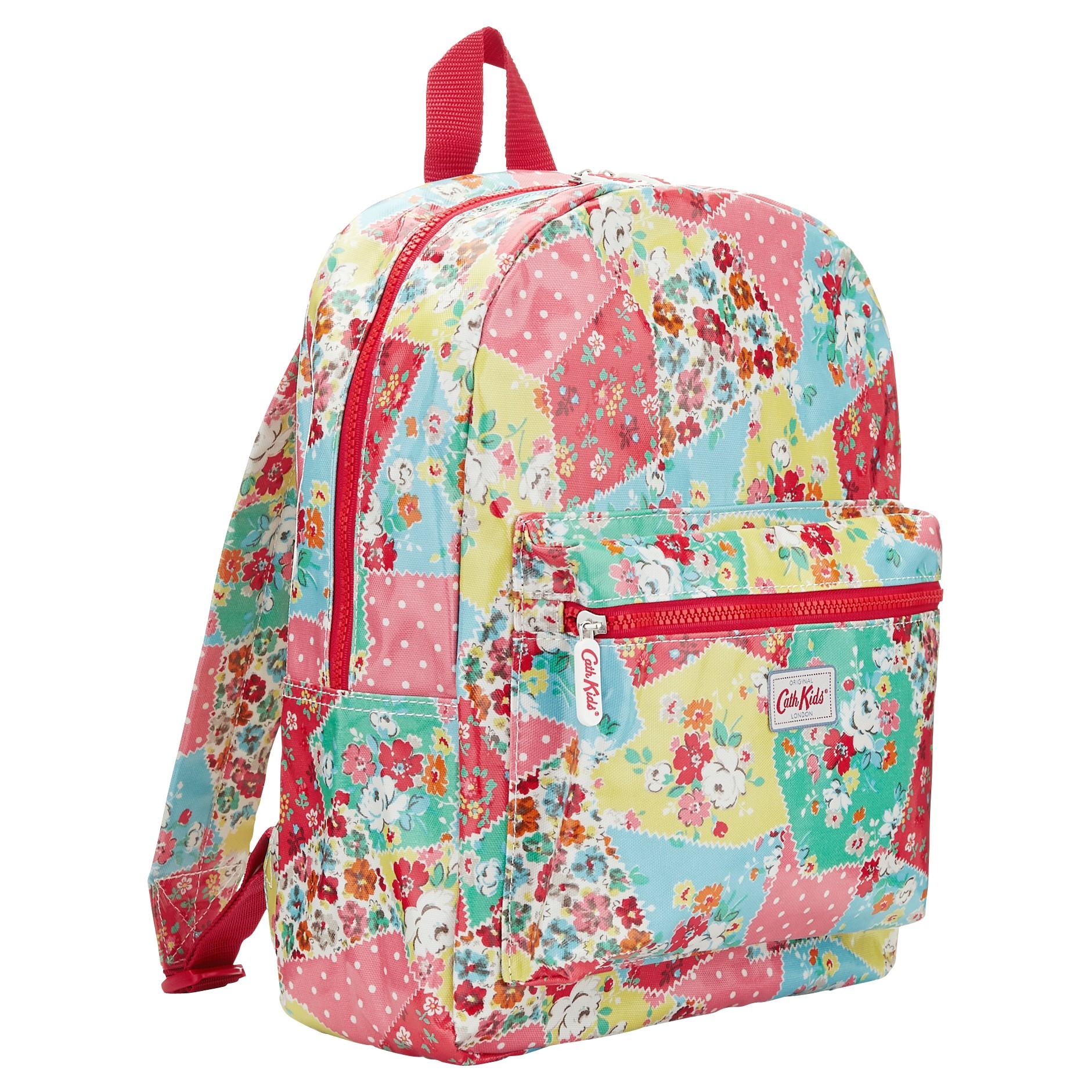 cath kidston patchwork padded backpack in multicolor. Black Bedroom Furniture Sets. Home Design Ideas