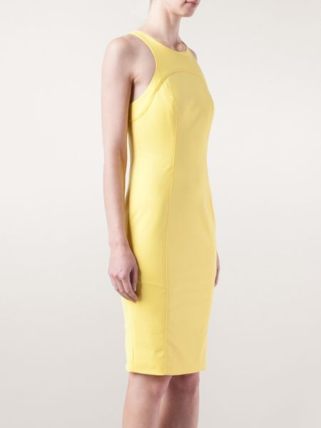 Veronica Beard Fitted Dress In Yellow Yellow Amp Orange Lyst