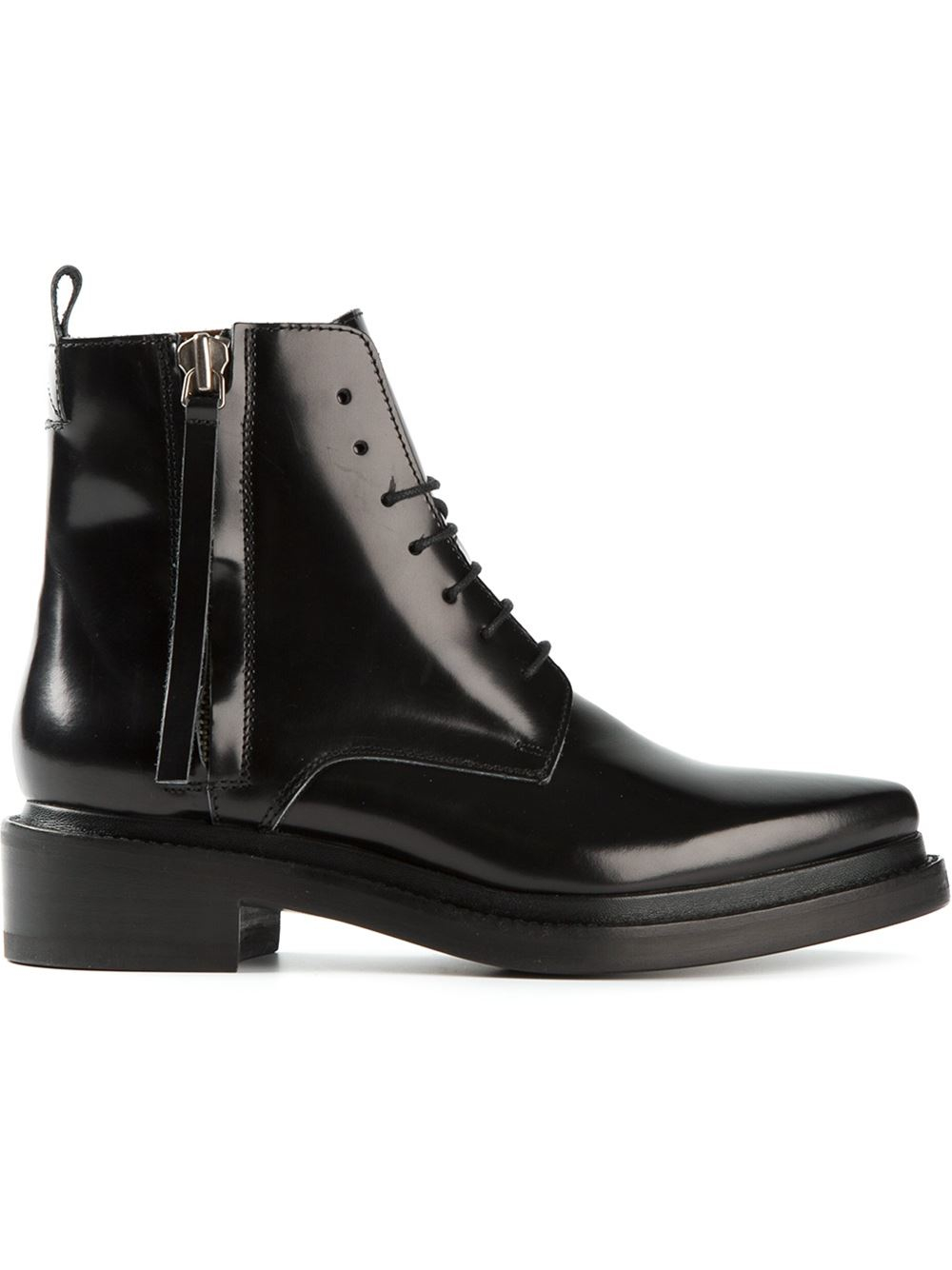 01695bfdc946 Lyst - Acne Studios Linden Ankle Boots in Black