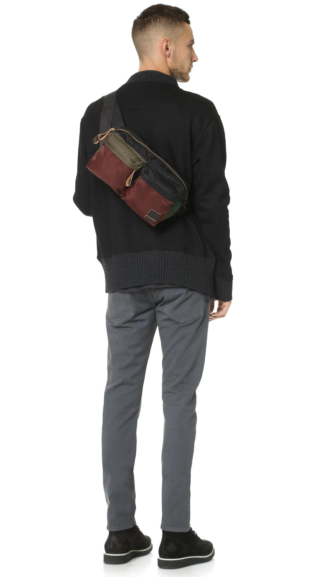 9c5fdd7e3e Marni Porter X Bandolier Shoulder Bag in Green for Men (Emerald .