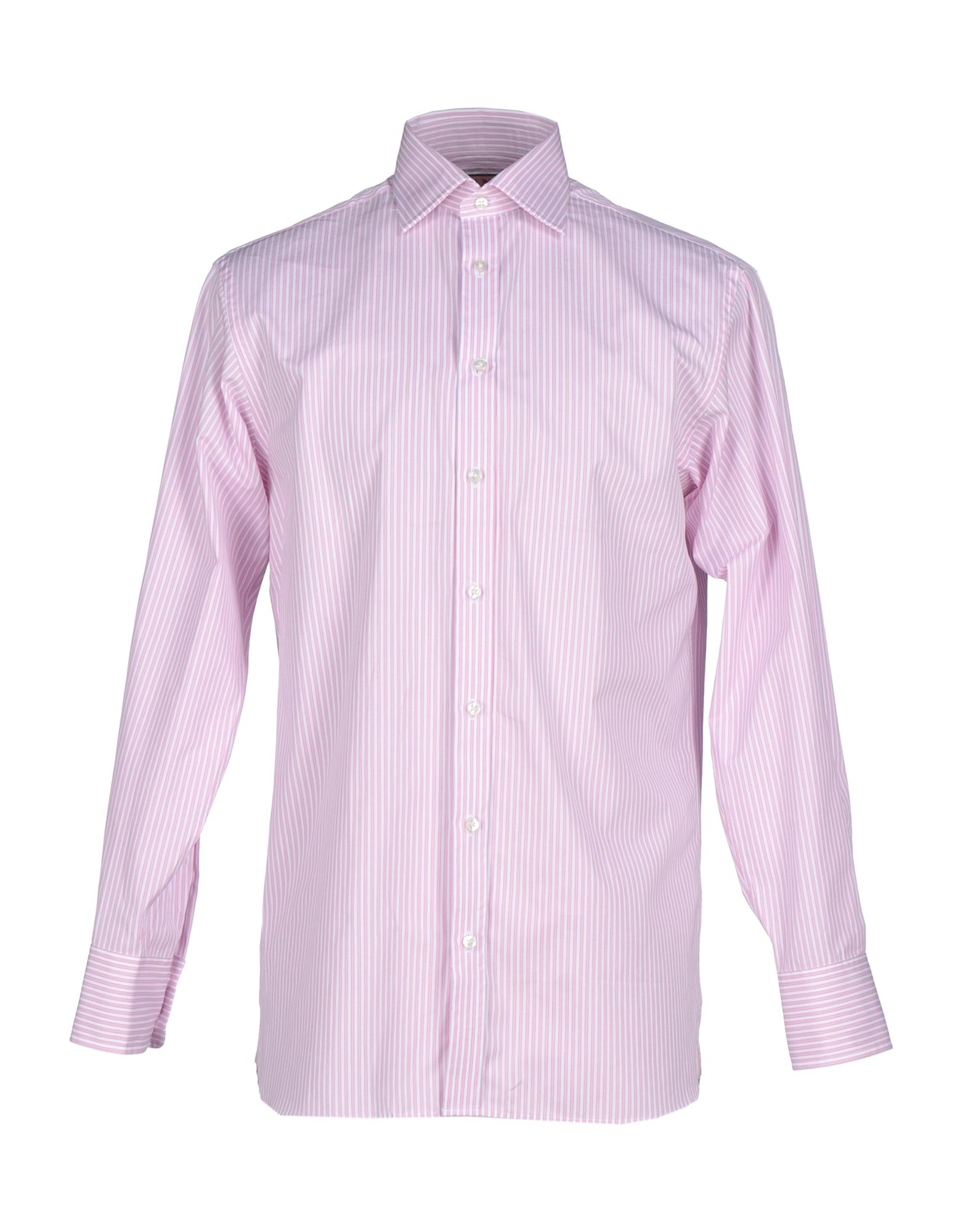 Thomas Pink Shirt In Pink For Men Lyst