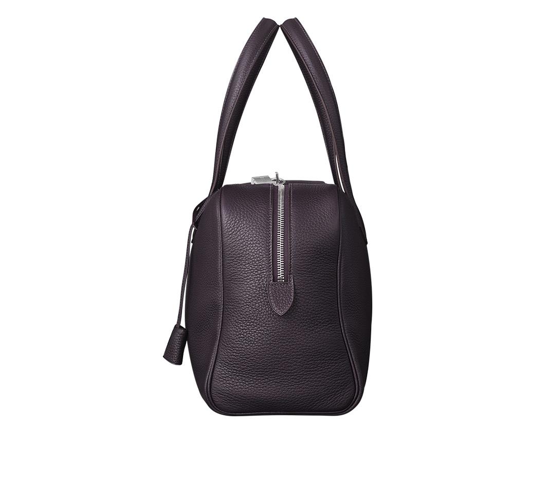 hermes bags - Herm��s Victoria Ii 12h in Purple (purple-black) | Lyst