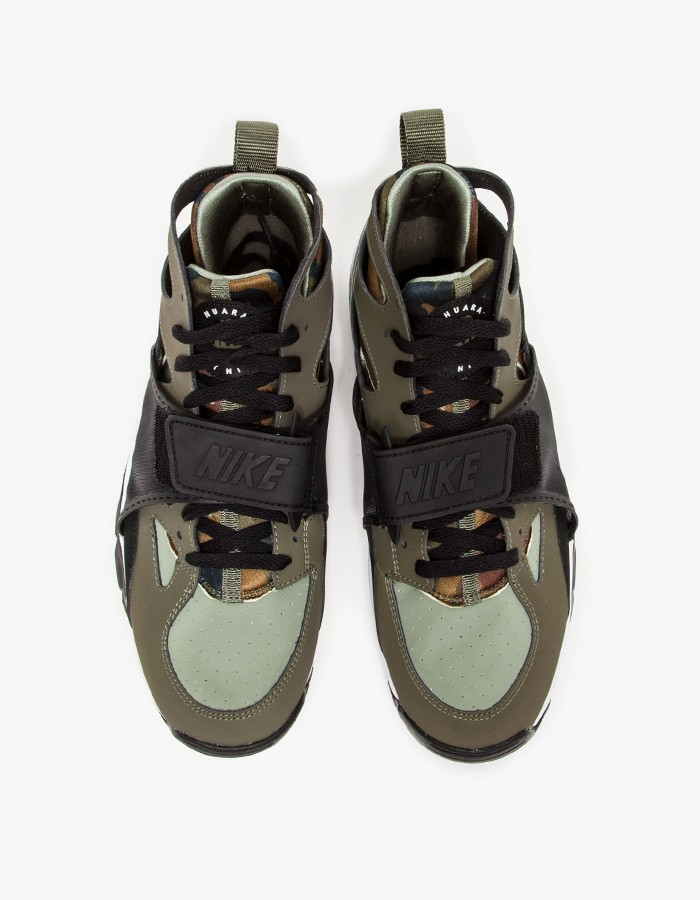 sneakers for cheap 6afd7 c76a5 ... cheapest lyst nike air trainer huarache in green 7dcb1 92ab0