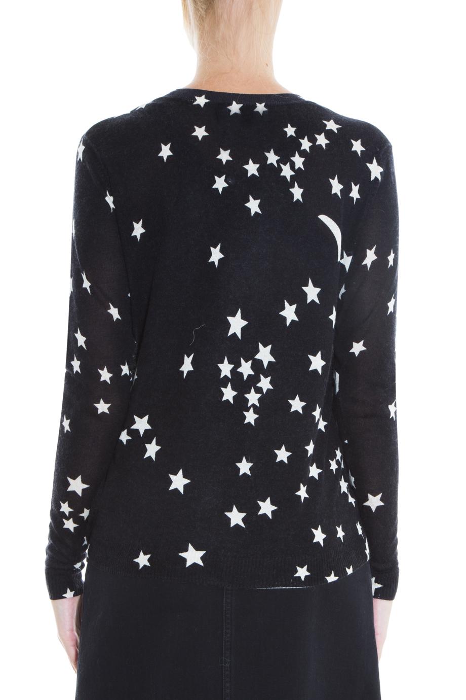 Lyst Banjo Amp Matilda Star Amp Moon Cardigan In Black