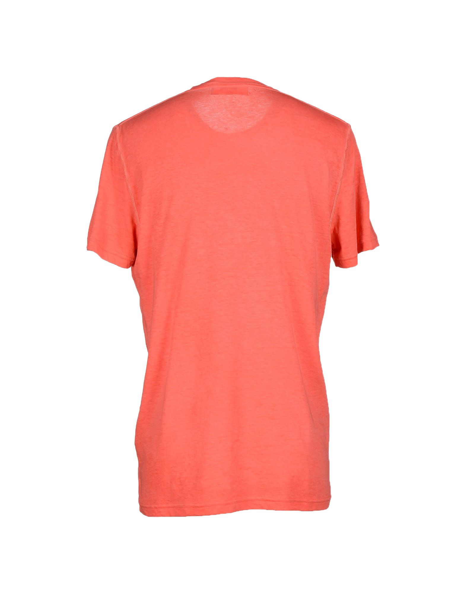 Dsquared t shirt in pink for men coral lyst for Coral shirts for guys