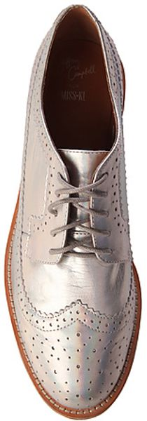 Jeffrey Campbell The Adel Shoe In Silver Hologram Lyst