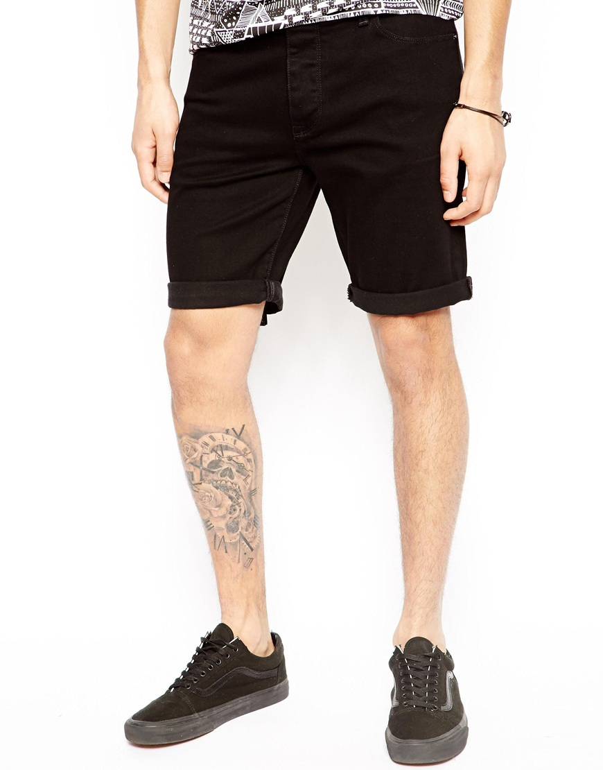 Mens black skinny jean shorts – Your new jeans photo blog