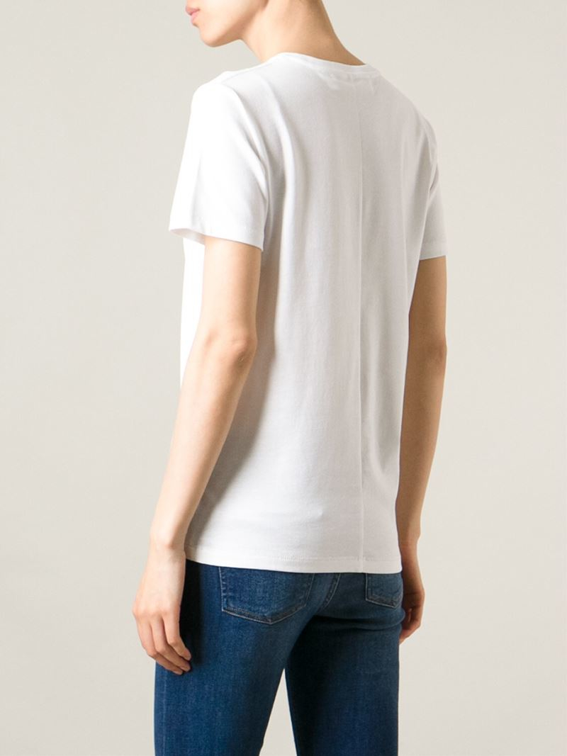 Buy Cheap Clearance Victoria Victoria Beckham crew neck T-shirt Outlet Cheap Prices OhBofseH
