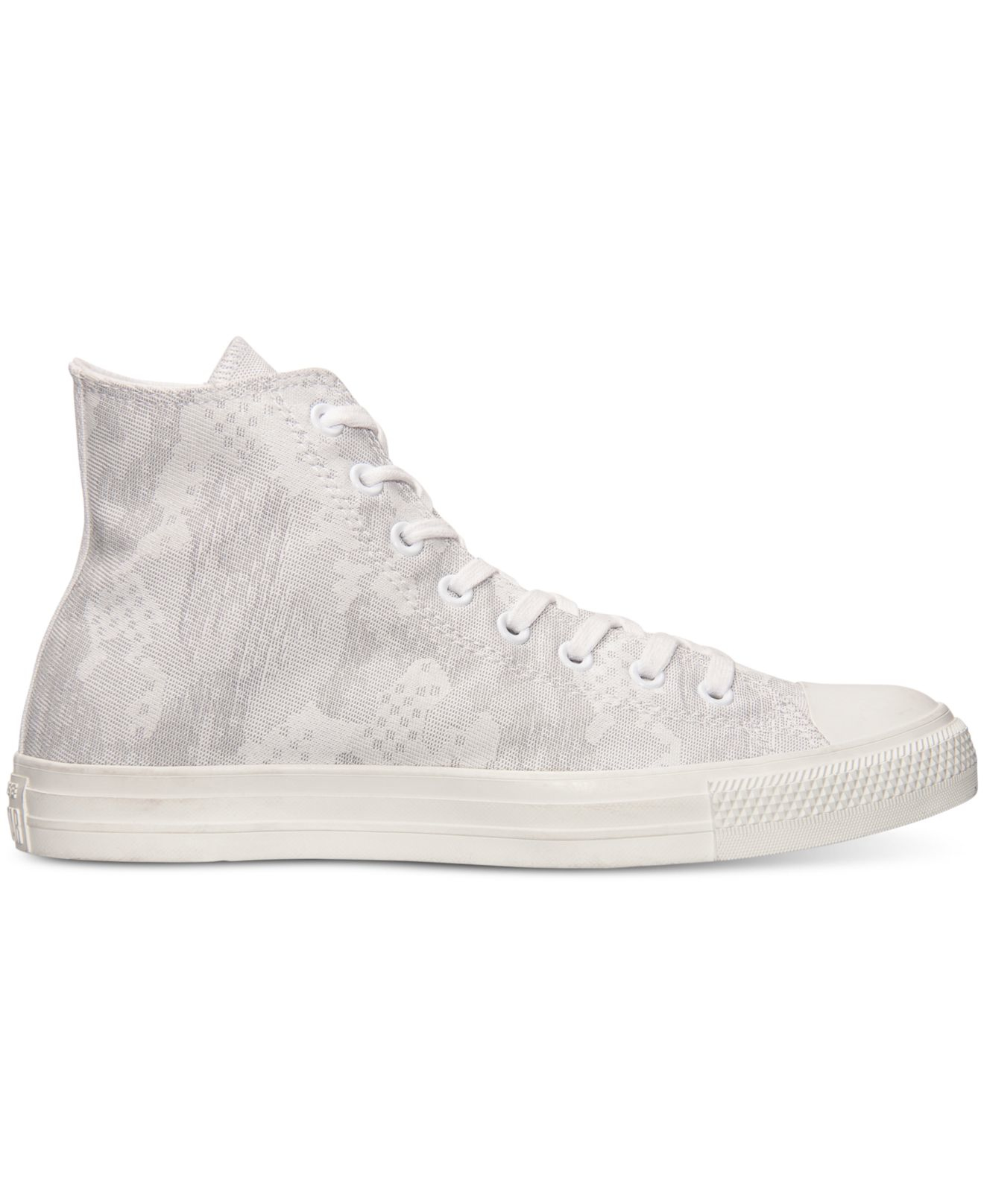 Converse Chuck Taylor Hi White Sneakers  Men