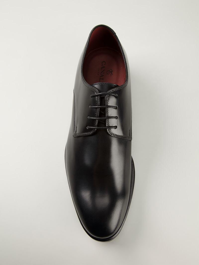 Derby shoes - Black Canali Qkj82iO