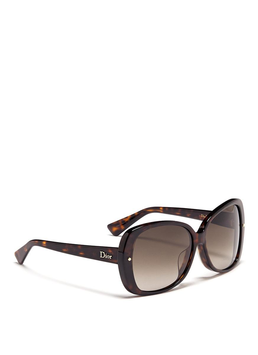 oversized sunglasses - Brown Dior 0X793C7