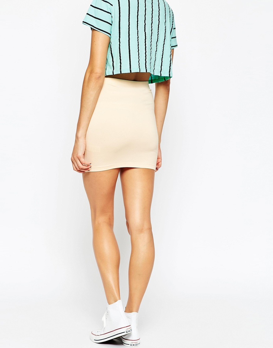 Simply matchless Micro skirt nudes