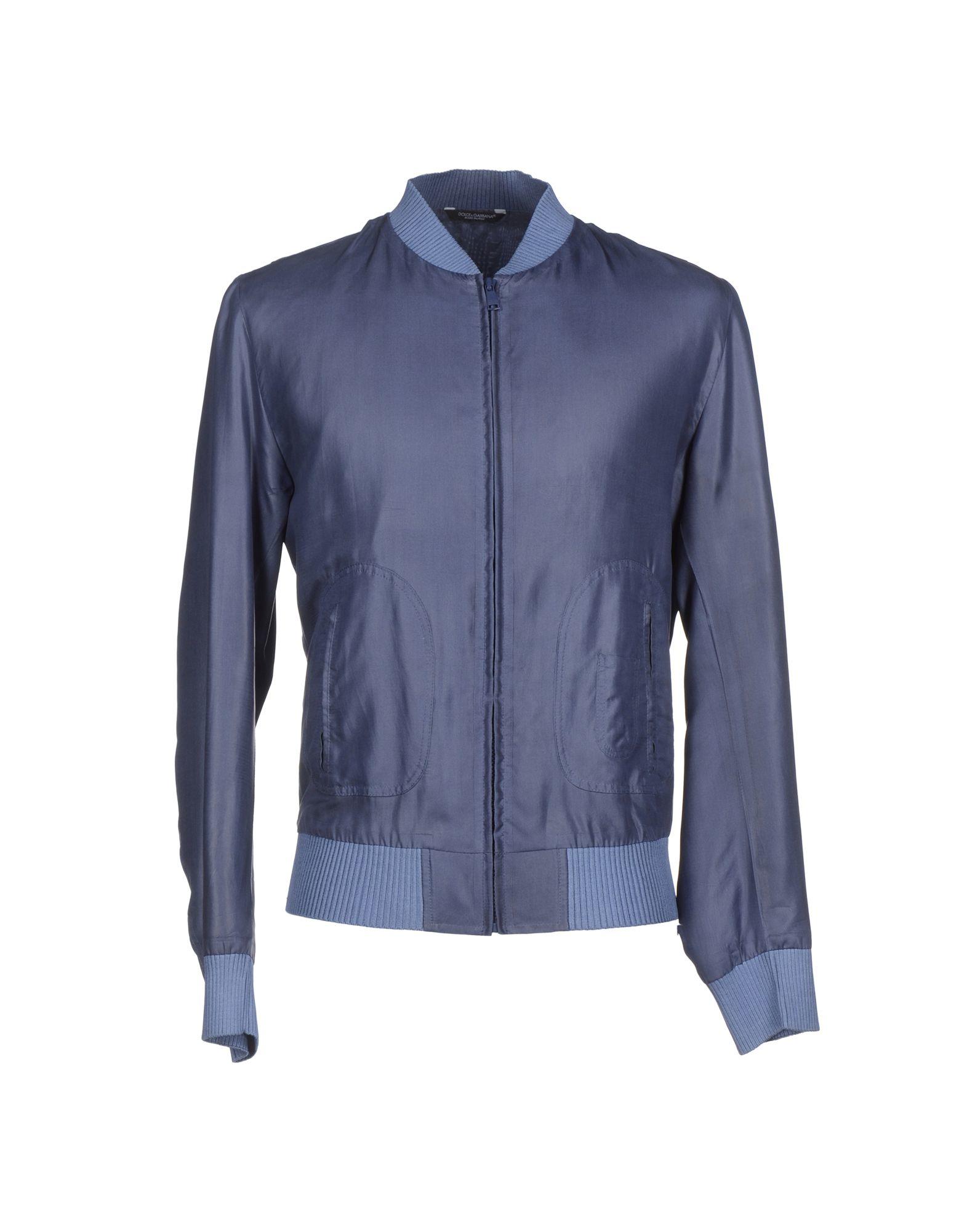 Lyst Dolce Amp Gabbana Jacket In Gray For Men