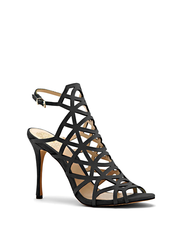 8c5fdb1be9b Lyst - Vince Camuto Kristana - Cutout High Heel Sandal in Black