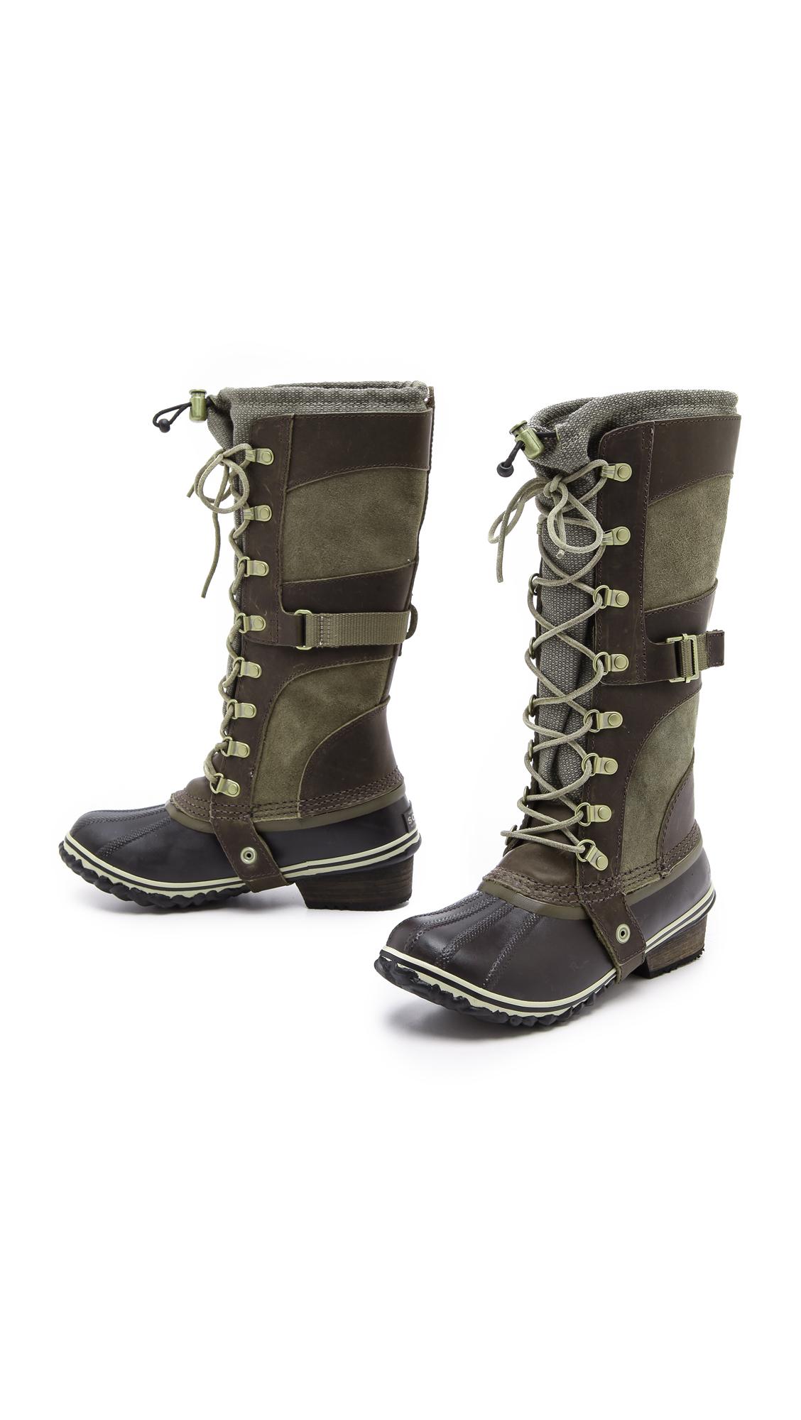 Lyst Sorel Slimpack Riding Boot In Brown