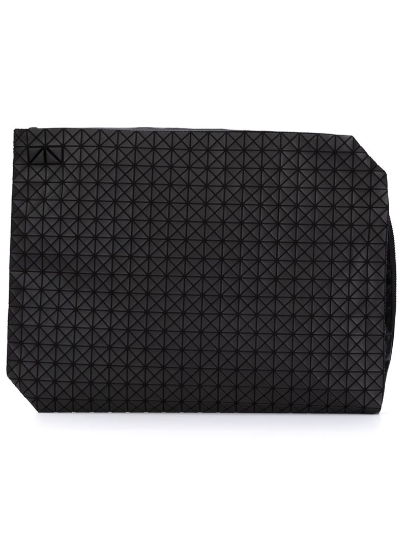 Bao Bao Issey Miyake Geometric Document Case In Black For Men Lyst