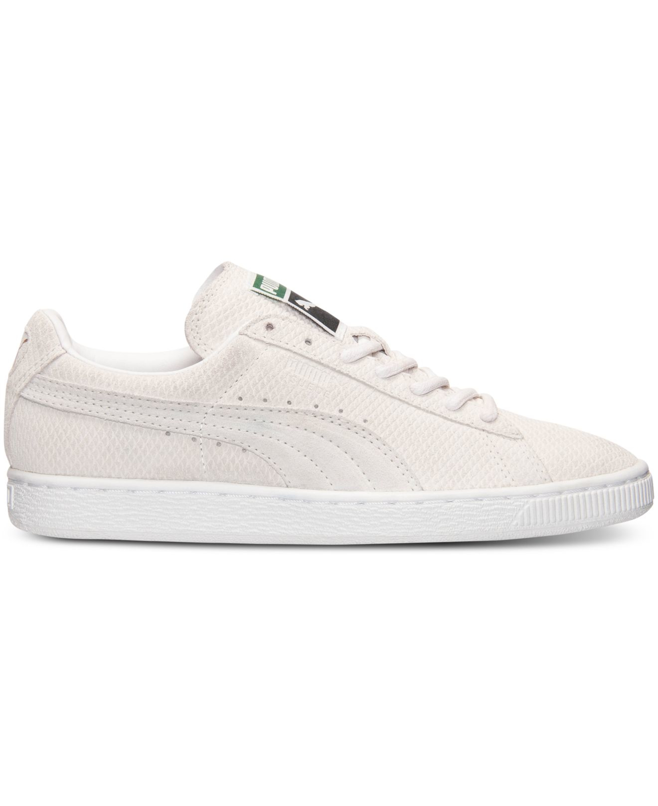 Puma Suede Womens White