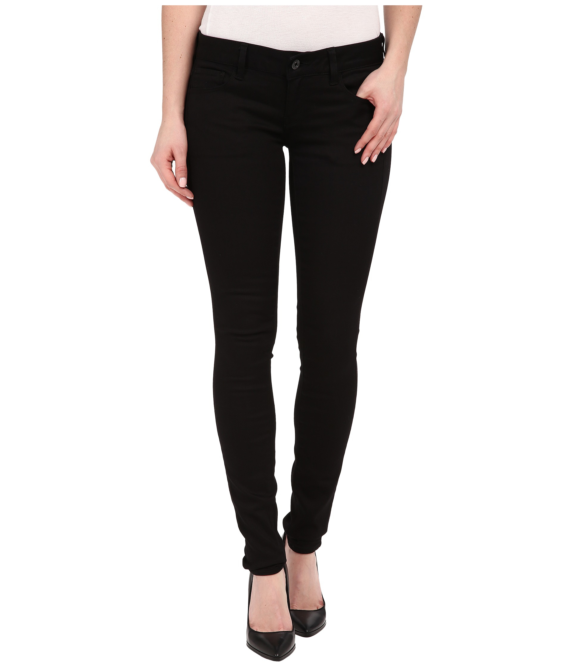 G-star raw 3301 Deconstructed Low Super Skinny Jeans In Cilex ...