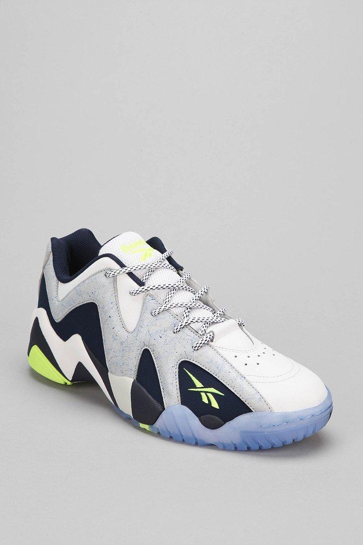 910d8132404df1 Lyst - Reebok Kamikaze 2 Low-Top Sneaker in White for Men