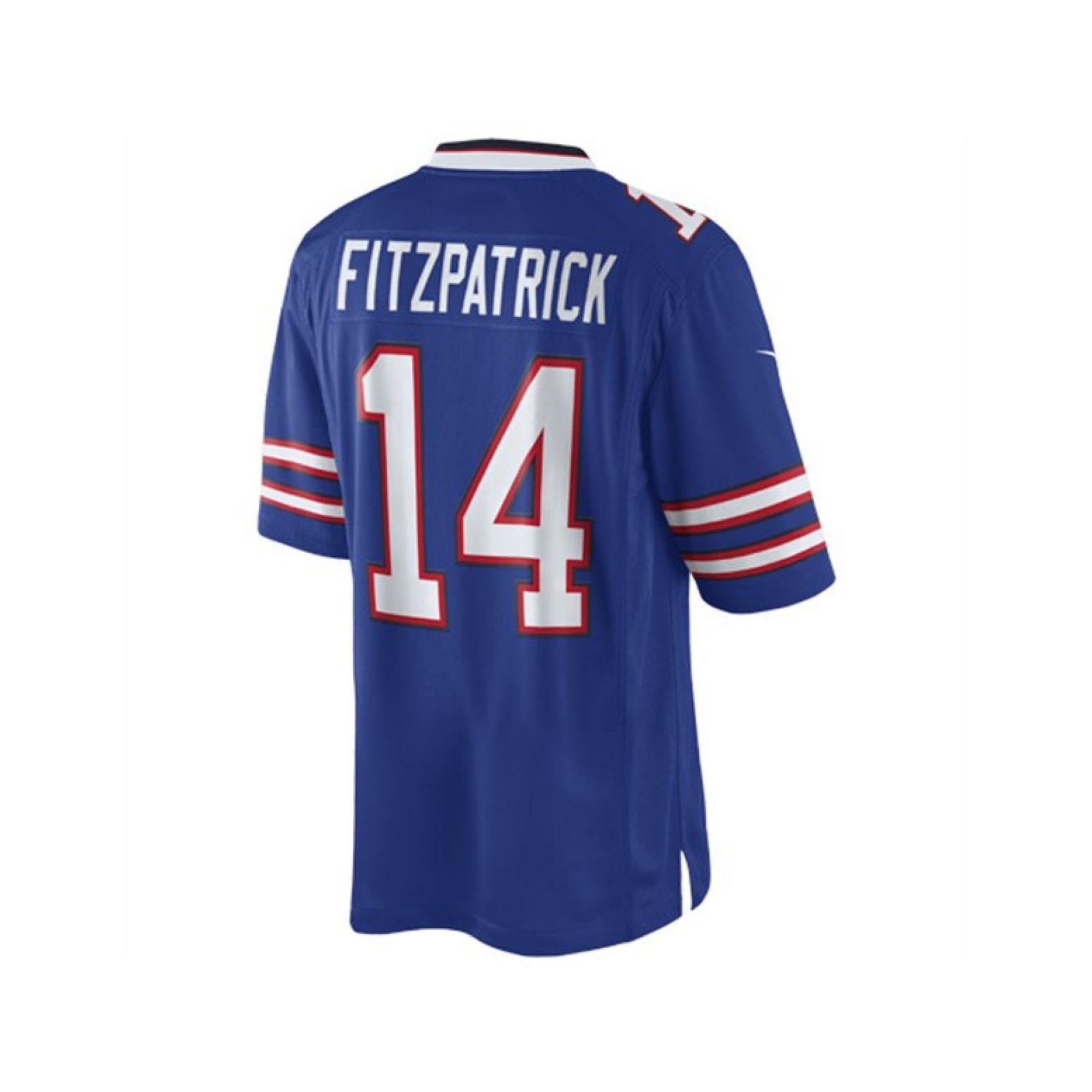 Nike mens ryan fitzpatrick buffalo bills limited jersey in for Buffalo bills t shirt jersey