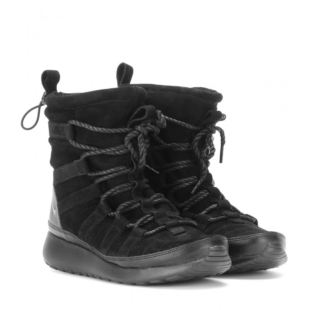 designer fashion 7bf56 e5410 womens nike roshe one hi sneakerboot