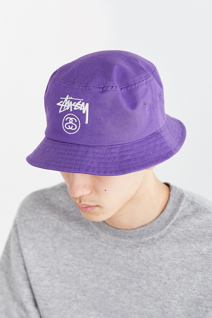 21063ae0ed7 stussy stock lock bucket hat camo