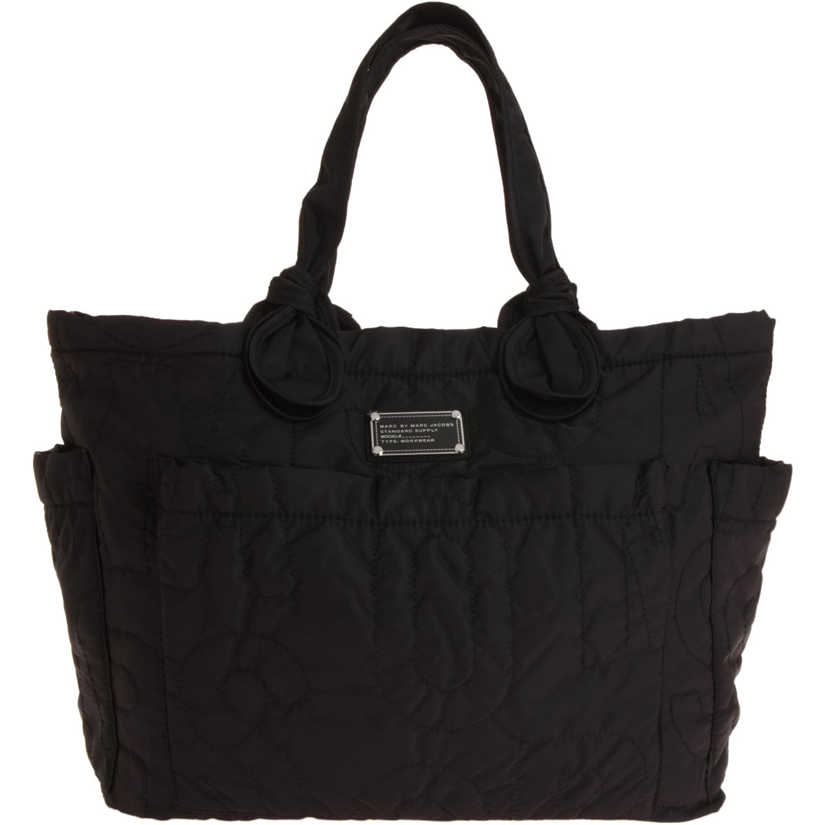 marc jacobs preppy eliz a baby diaper bag in black lyst. Black Bedroom Furniture Sets. Home Design Ideas