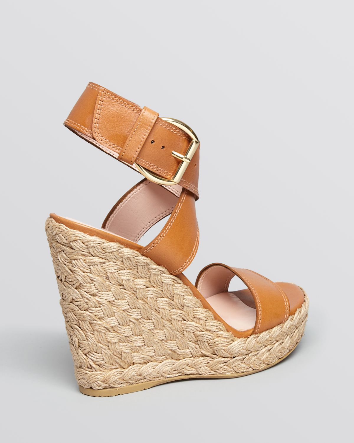low shipping cheap online discount outlet locations Stuart Weitzman Platform Leather Wedges browse cheap online i2Z0W