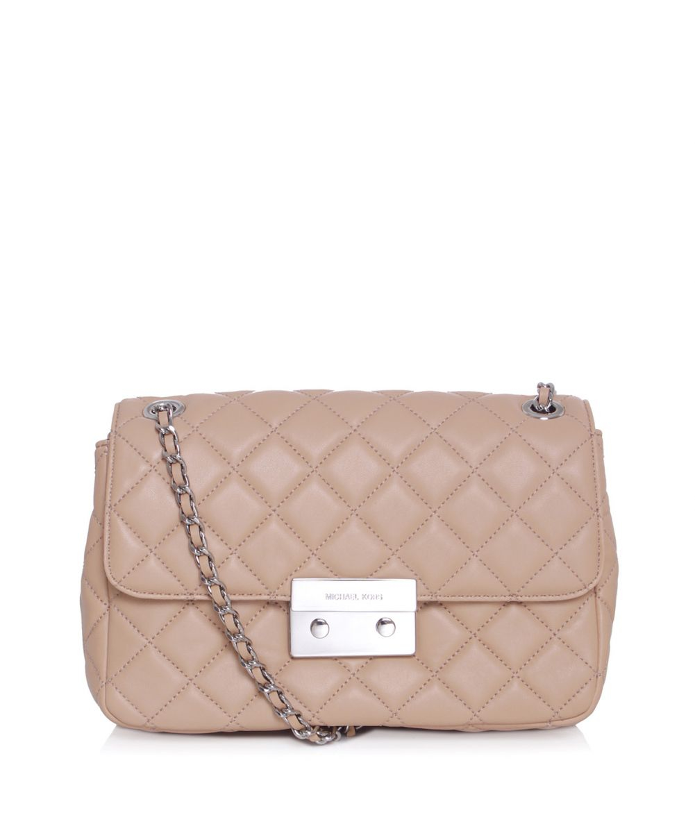 742c069ff610 Lyst - MICHAEL Michael Kors Sloan Chain Shoulder Bag in Pink