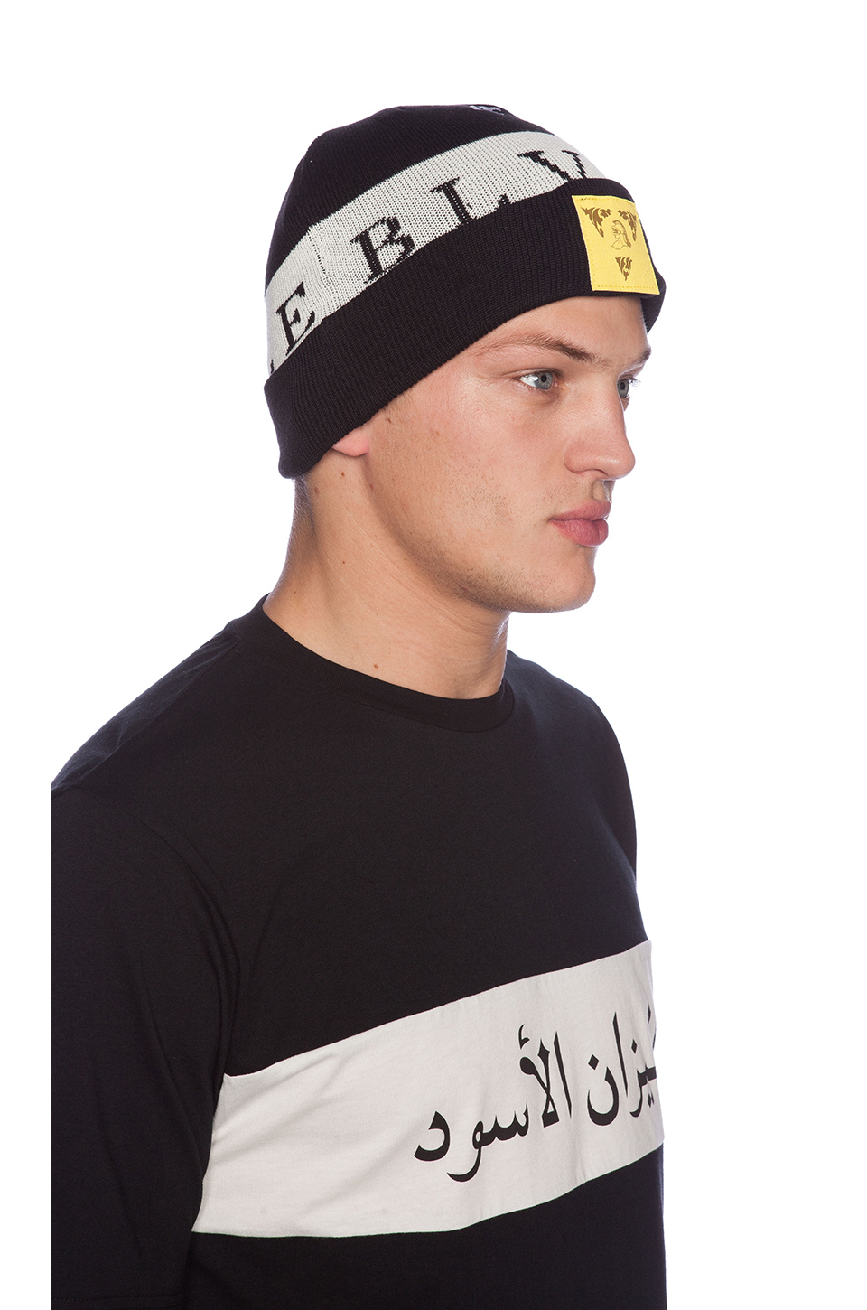 Lyst - Black Scale Blvck Knight Beanie in Black for Men 0af61a4cb62