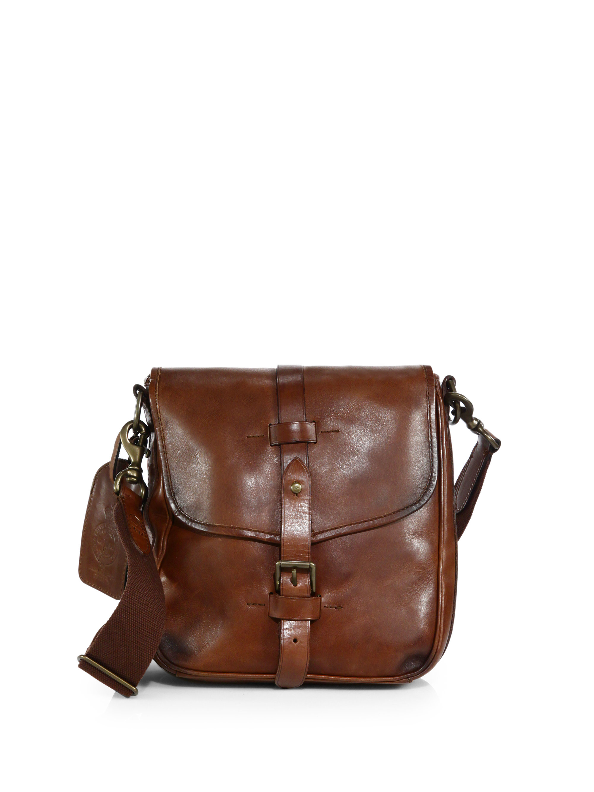 ... australia lyst polo ralph lauren leather camera bag in brown for men  02fc4 f6d88 ba048775d067a