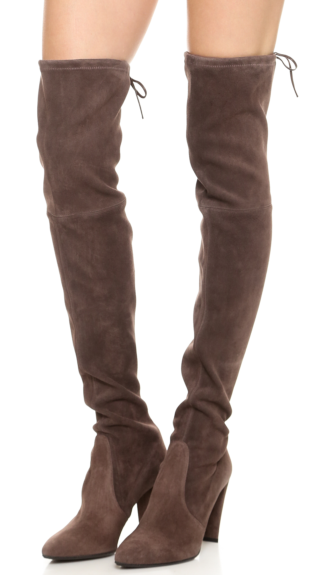 Stuart Weitzman High Street Over The Knee Boots Funghi