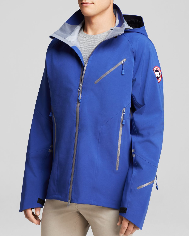 canada goose blue men's coat
