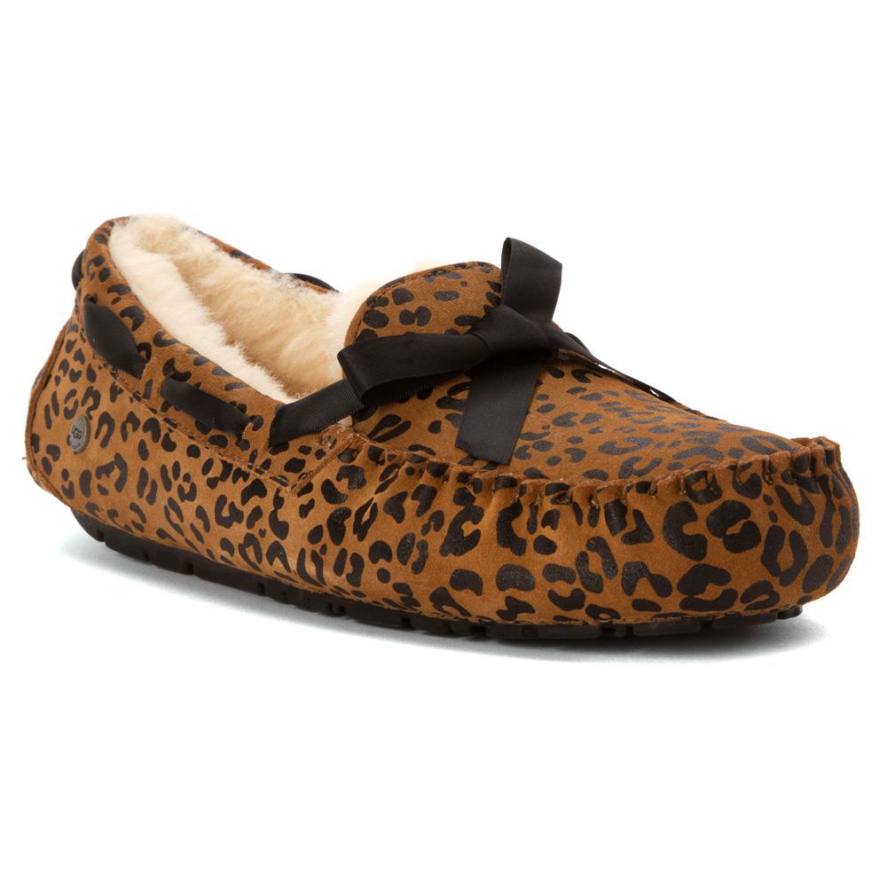 3622928524f Lyst - UGG Dakota Leopard Bow