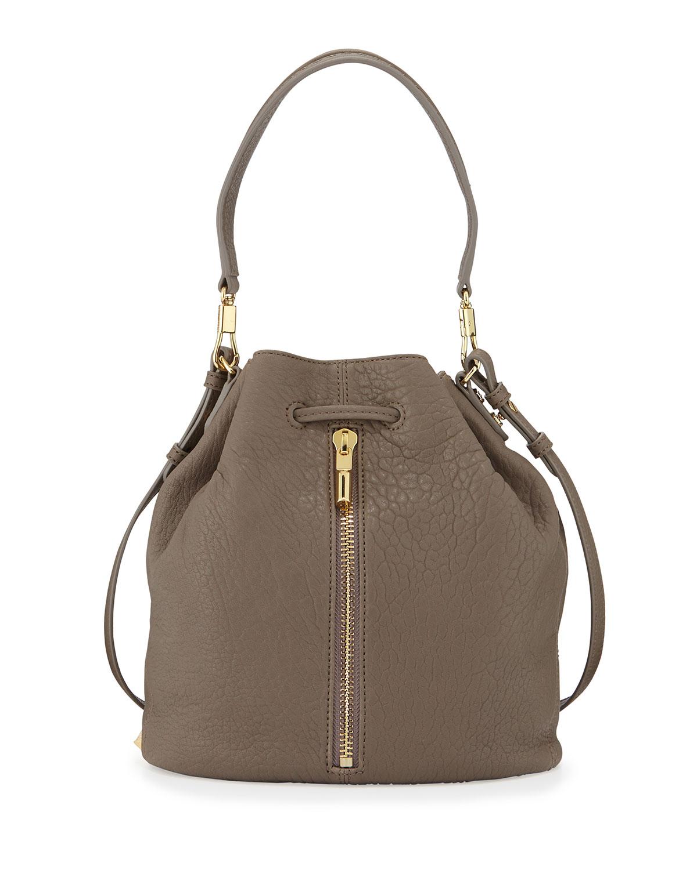 Elizabeth And James Cynnie Leather Bucket Bag In Brown Lyst
