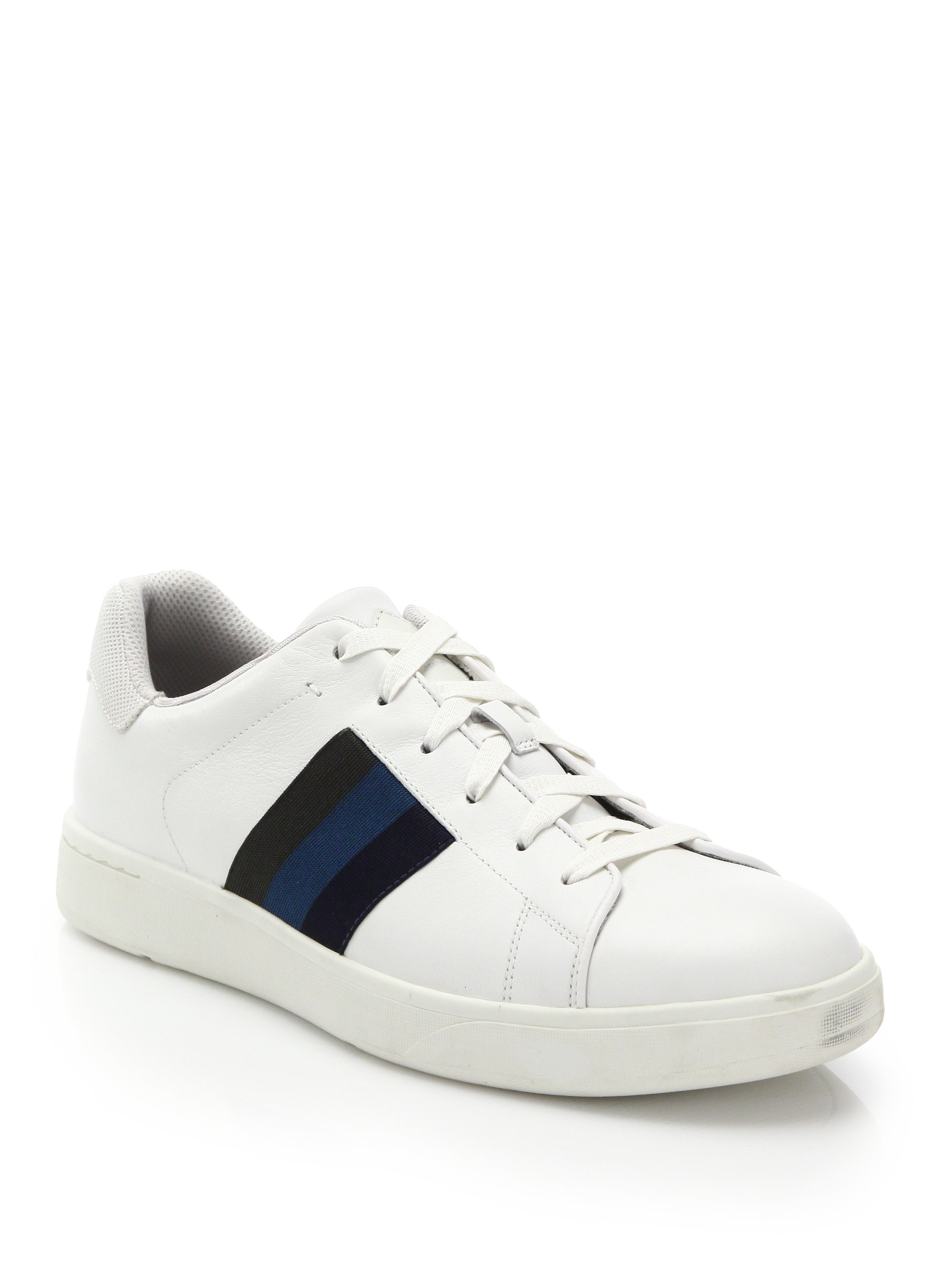 Paul Smith Panelled low top sneakers